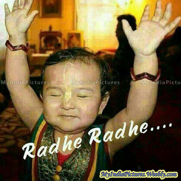 Radhe Radhe Good Morning Wallpapers for free download